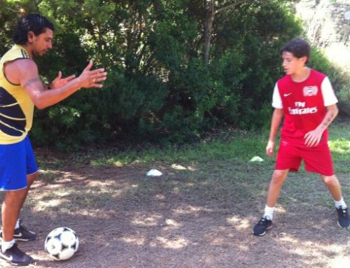 Football lessons for X-mas with Daniel Benites Personal Trainer
