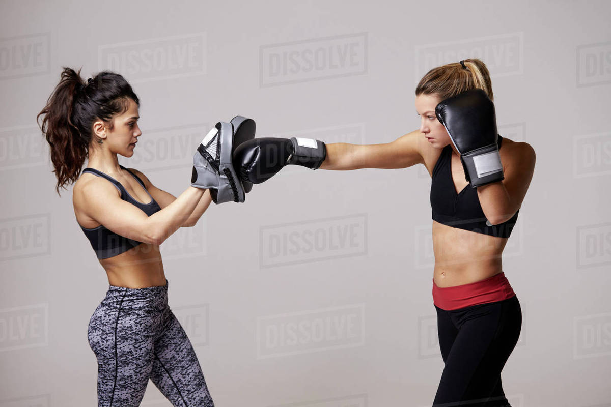Female boxing classes