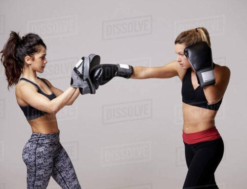 Female boxing classes